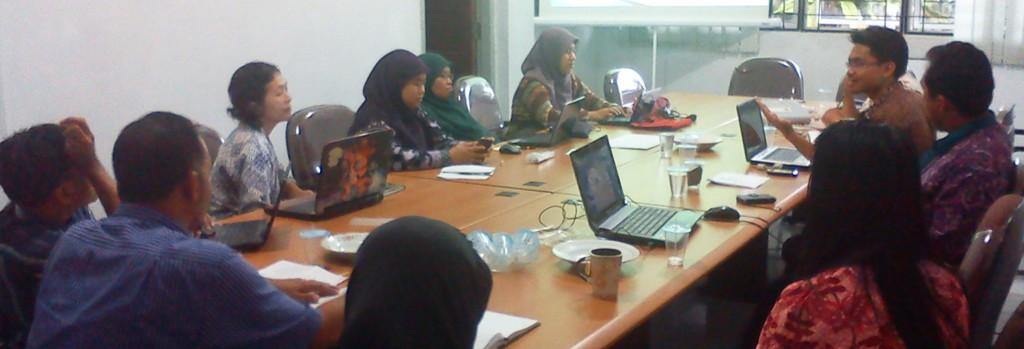 foto 2 pelatihan menulis berita