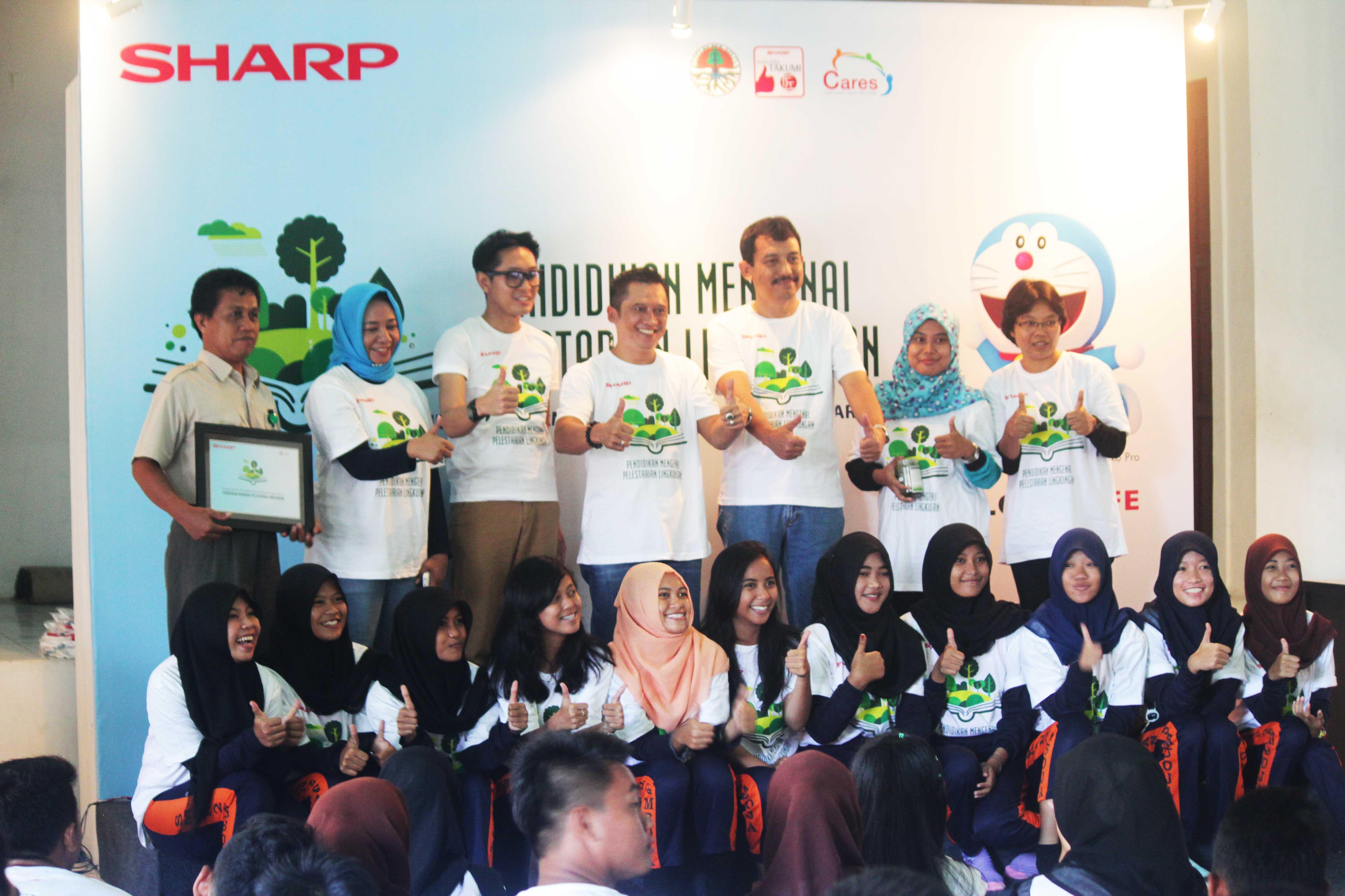 """Pendidikan Pelestarian Lingkungan untuk Pelajar"" Kerjasama PT Sharp dan Balitek KSDA"