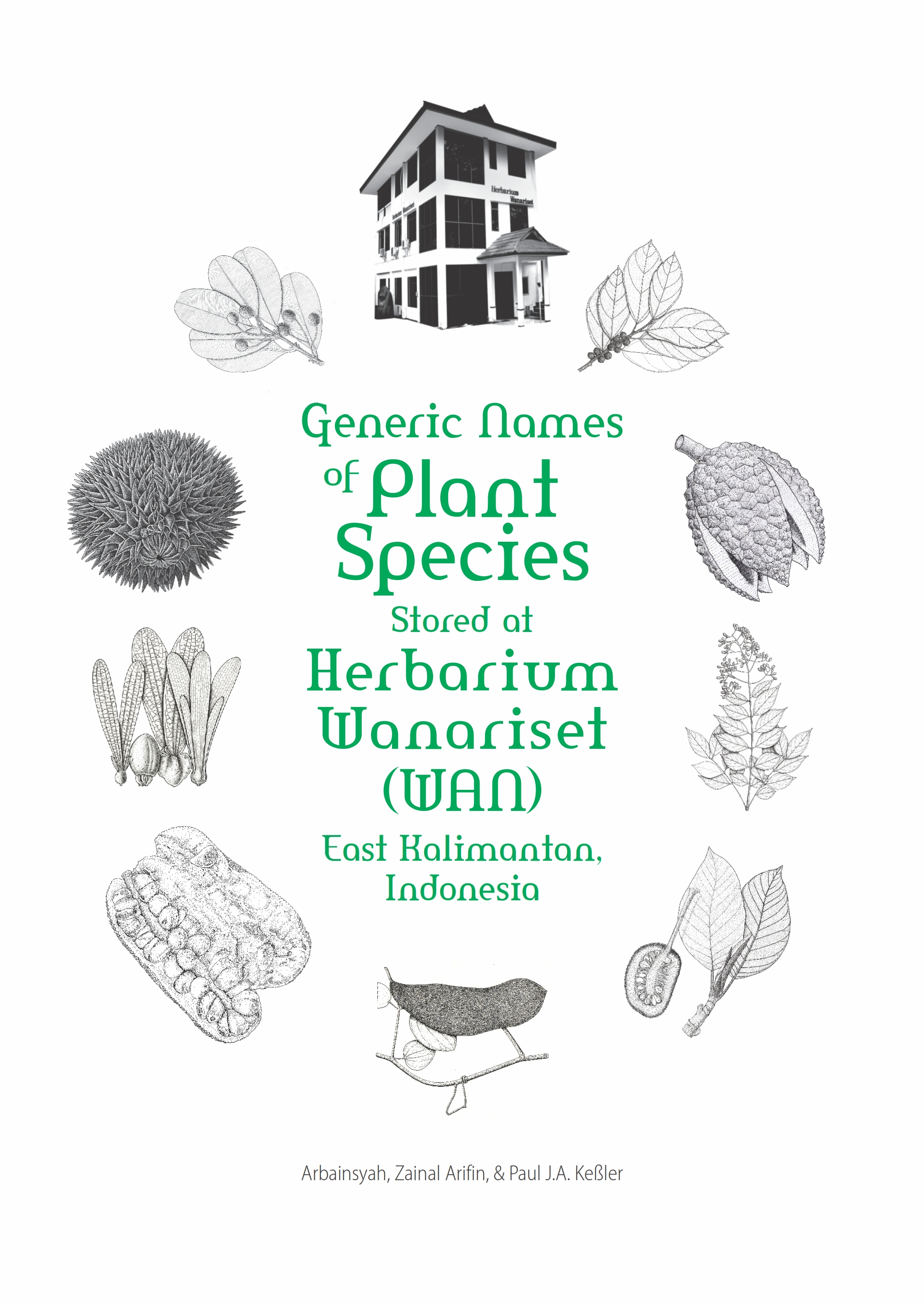 "Launching buku ""Generic Names of Plant Species Stored at Herbarium Wanariset"""
