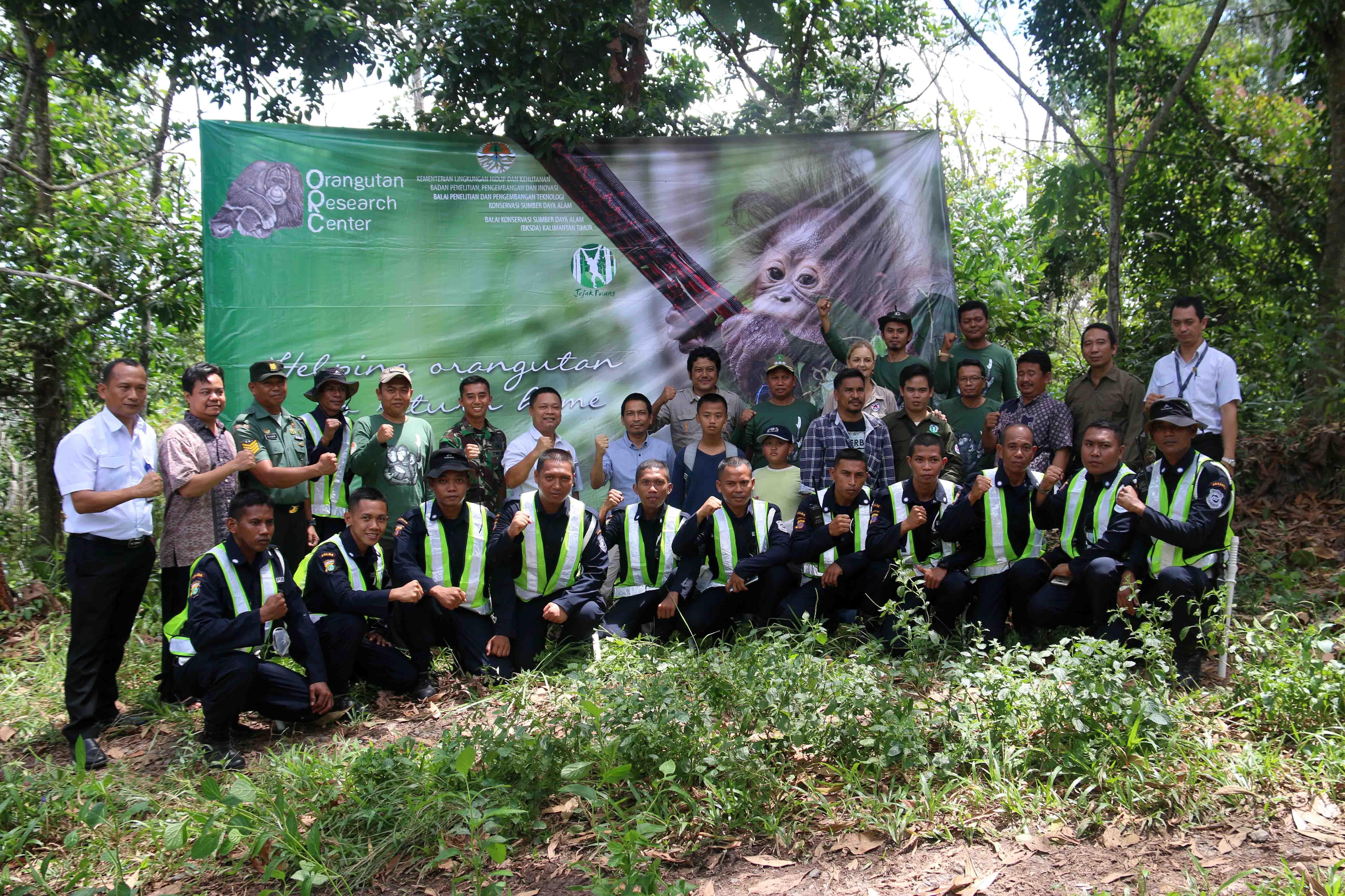"""Forest Ranger"" Pasukan Pengamanan Sekolah Hutan Samboja"